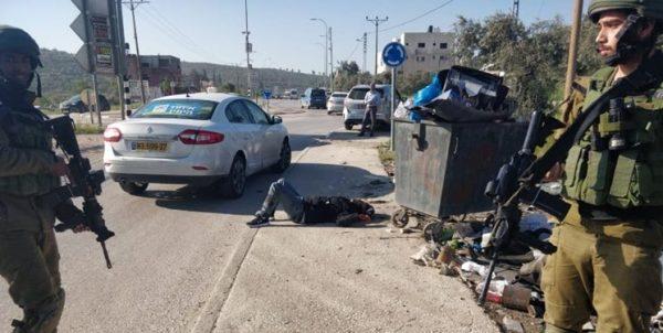 شهرکنشین صهیونیست دو فلسطینی را هدف گلوله قرار داد