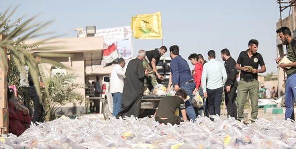 امدادرسانی نیروهای «نجباء» عراق به سیلزدگان خوزستان+تصاویر