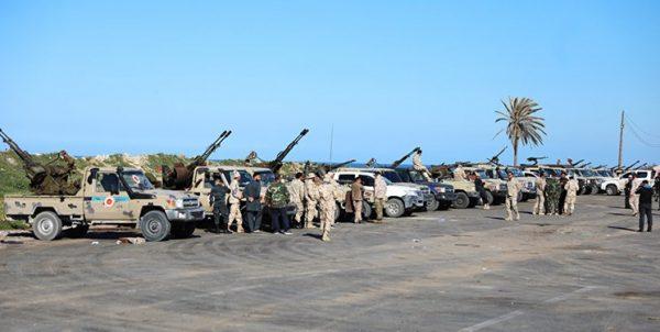 لیبی | احتمال قطع مسیرهای امدادی «حفتر» در جنوب طرابلس