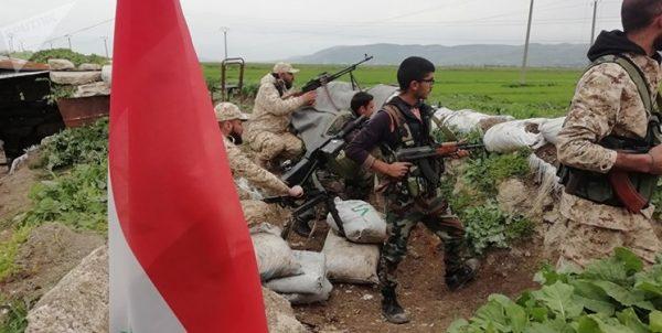 درگیری شدید ارتش سوریه با تروریستها در ادلب، حماه و حلب