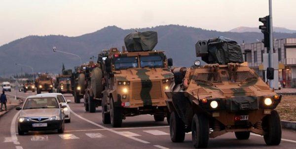 اعزام کماندوهای ترکیه به مرزهای سوریه