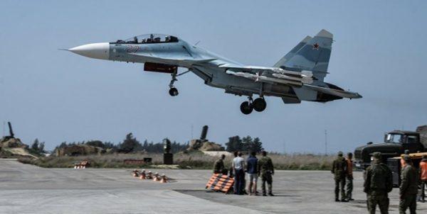 حمله راکتی به پایگاه هوایی روسیه در سوریه