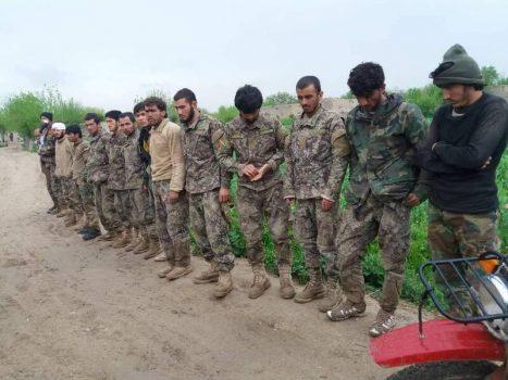آخرین تحولات میدانی افغانستان/ شکستهای سنگین نیروهای ارتش افغانستان در استان بادغیس + نقشه میدانی