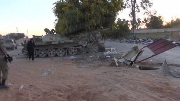در پایتخت لیبی چه می گذرد؟/ تحولات میدانی حومه شهر طرابلس پس از ۱۲ روز درگیری سنگین + نقشه میدانی و عکس