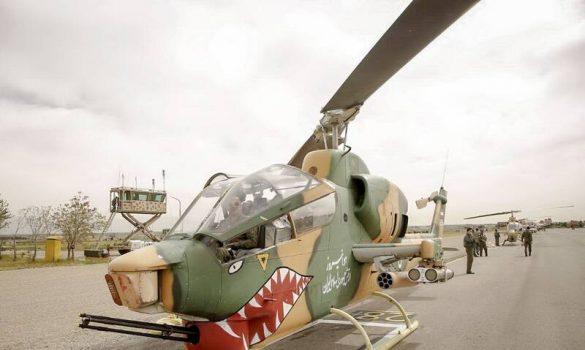 ۳ نیش بلند و جدید برای کبراهای ارتش مهیا شد/ بالگردهای ایرانی با موشک «حیدر» به تراز نبردهای جهانی رسیدند +عکس