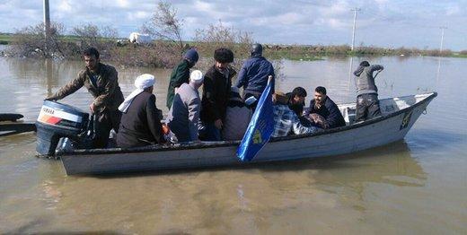روایت یکی از افراد حاضر در مناطق سیل زده