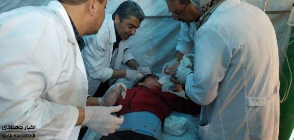 مصدومیت بیش از ۴۰ فلسطینی در حمله صهیونیستها به راهپیمایی غزه