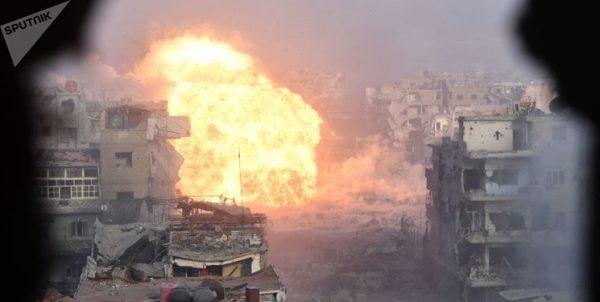 کشته شدن ۳۰ تروریست و انهدام ۱۲ خودرو در ریف شمالی حماه