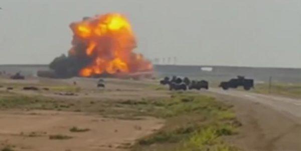 ارتش سوریه یک خودروی انتحاری را در ریف حماه منفجر کرد