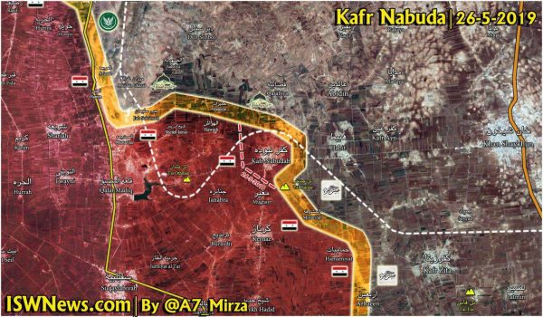 تسلط ارتش سوریه بر شهرک «کفر نبوده»