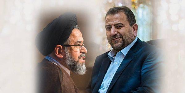 دیدار اعضای ارشد جنبش حماس با وزیر اطلاعات ایران