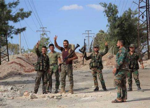 افتضاح گروهکهای تروریستی در شمال استان حماه + نقشه میدانی و عکس