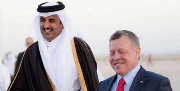 ابوظبی در حال دوری از ریاض؟ آیا امارات در تقویت روابط قطر و اردن نقش دارد؟