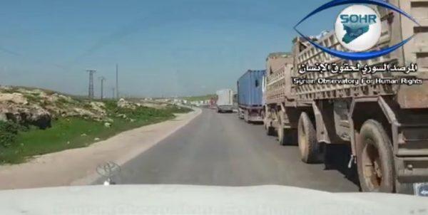 ارسال ۲۸۰ کامیون دیگر؛ آمریکا شرق سوریه را غرق سلاح کرده است