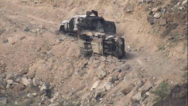 مقاومت در آخرین منطقه تحت کنترل در استان مارب؛ دفع حملات سنگین نیروهای ائتلاف به دروازه های شرقی پایتخت یمن + نقشه میدانی و عکس
