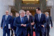 دیدار فرستاده ویژه پوتین با بشار اسد +عکس