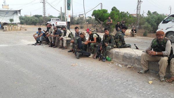 آخرین تحولات میدانی شمال استان حماه سوریه/ ادامه شکستهای گروهکهای تروریستی با آزادی منطقه «وادی حسمین» + نقشه میدانی و عکس