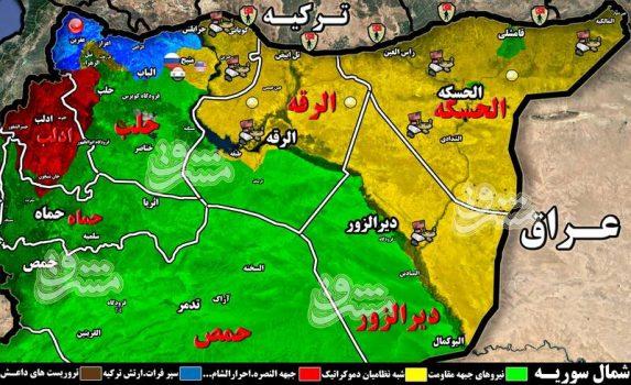 چرا عملیات ارتش ترکیه در شمال سوریه متوقف شد؟ / بازی جدید آمریکا با آنکارا در شمال سوریه برای تکرار تجربه «منبج» + نقشه میدانی