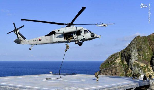 بحران در روابط متحدین آمریکا در شرق آسیا/ مانور نظامی کره جنوبی در جزایر مورد مناقشه خشم ژاپن را برانگیخت +تصاویر
