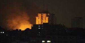 حملات هوایی رژیم صهیونیستی به چند نقطه در نوار غزه