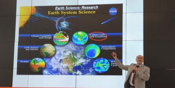 ایجاد مرکز اطلاعاتی «ناسا» در منطقه آسیای مرکزی