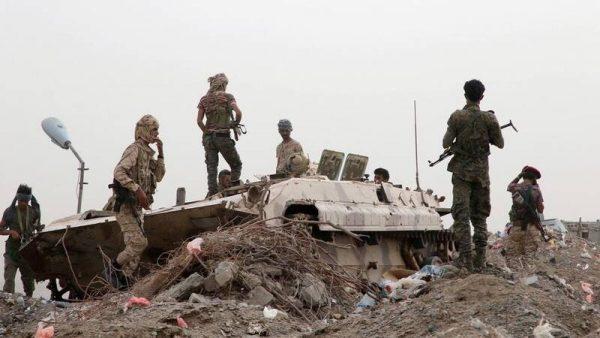 جنگ علنی امارات علیه نیروهای رژیم سعودی در جنوب یمن/ خشم ریاض از شکست دوباره نیروهای منصورهادی در عدن و ابین + نقشه میدانی و عکس