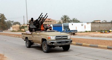 جدیدترین تحولات میدانی شمال غرب لیبی/ قدرتنمایی دوباره دولت وفاق برای نیروهای تحت فرمان آمریکا، رژیم سعودی و امارات + نقشه میدانی و عکس