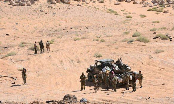 پشت پرده حملات هوایی به پایگاه نظامی در حومه گذرگاه مرزی «البوکمال» سوریه/ عملیات مشترک آمریکاییها و صهیونیستها برای جلوگیری از بازگشایی جاده «تهران – مدیترانه» + نقشه میدانی و عکس