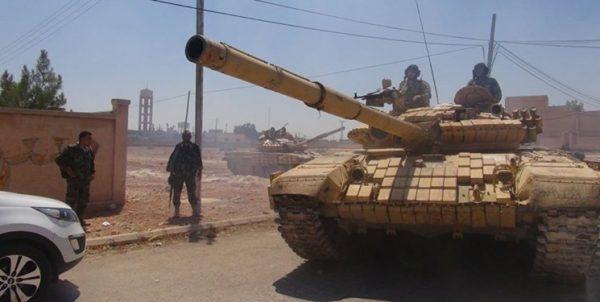 ارتش سوریه حمله عناصر وابسته به ترکیه را دفع کرد