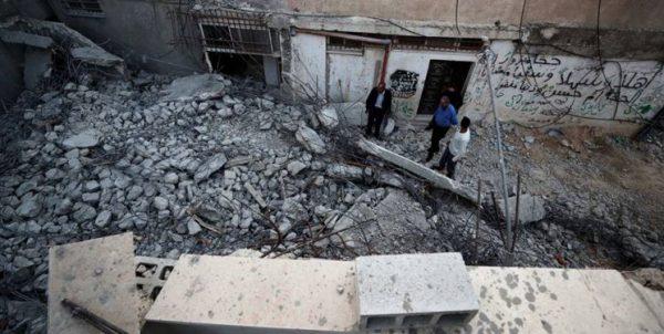 عکس  رامالله؛ تخریب منزل «أم ناصر» مادر یک شهید و پنج اسیر فلسطینی