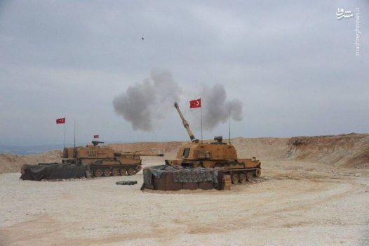 توپهای ساخت کارخانه سامسونگ عامل اصلی کشتار غیرنظامیان در شمال سوریه +عکس