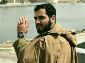 """آخرین تصویر ثبت شده از صورت نورانی شهید مدافع حرم """"وحید فرهنگی والا"""" در معراج شهدا"""