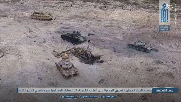 دلایل ناکامی ارتش سوریه در پاکسازی شمال استان لاذقیه / شهرک و بلندیهای طلسمشده «کبانه» چه وقت آزاد میشوند؟ + عکس و نقشه