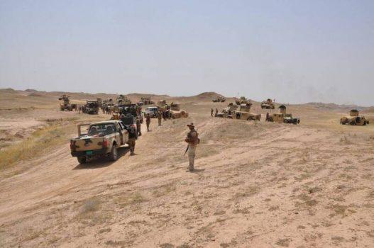 آمریکاییها در استان الانبار عراق به دنبال چه چیزی هستند؟ / جزئیات پاسخ قاطع بسیج مردمی به تلاش واشنگتن برای ناامن کردن جاده راهبردی «تهران – مدیترانه» + نقشه میدانی و عکس