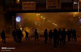 عکس/ تعرض اغتشاشگران به سرکنسولگری ایران