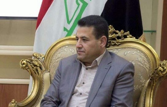 تحویل فرمانده عصائب اهل الحق به بسیج مردمی عراق