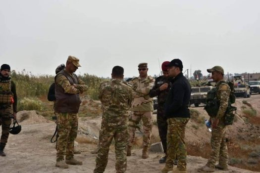 جدیدترین تحولات میدانی عراق؛ جزئیات عملیات گسترده برای پاکسازی غده سرطانی کرکوک و صلاحالدین + نقشه میدانی و عکس