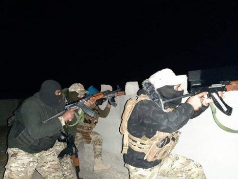 جزئیات عملیات انتقام بسیج مردمی از داعش در مرکز عراق + نقشه میدانی و عکس