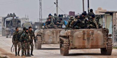 تلاش ارتش سوریه برای پاکسازی مسیر دیرالزور-حمص