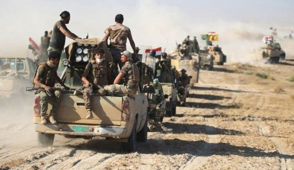 جزئیات عملیات کم سابقه در استان الانبار برای نابودی تروریستها + نقشه میدانی و عکس