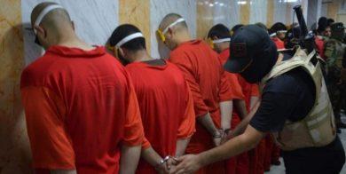 ۵ فرمانده داعش در عراق اعدام شدند