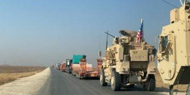 یک کاروان ارتش آمریکا در استان بغداد هدف قرار گرفت
