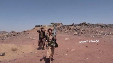آخرین خبرها از تحولات میدانی در قلب یمن/ شاهرگ نظامی – اقتصادی آل سعود در آستانه قطع شدن + نقشه میدانی و عکس