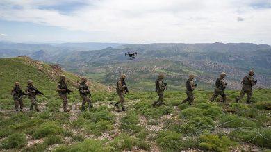 وزنکشی آنکارا و گروه پ. ک.ک در اقلیم کردستان/ ارتش ترکیه چند پایگاه و پست نظامی در شمال عراق دارد؟ + نقشه میدانی و عکس