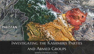 یادداشت: شناخت احزاب و گروههای مسلح کشمیر
